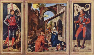 Paumgartner Altar Albrecht Durer Oil Paintings